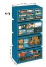 Estante Metalo-Plásticas N.º 1 - com 9 Gavetas