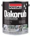 Dakorub Classic - Impermeabilizante para Fachadas - 6,86 Kg - Branco - 807907550
