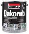 Dakorub Classic - Impermeabilizante para Fachadas - 6,86 Kg - Cinza - 07907560